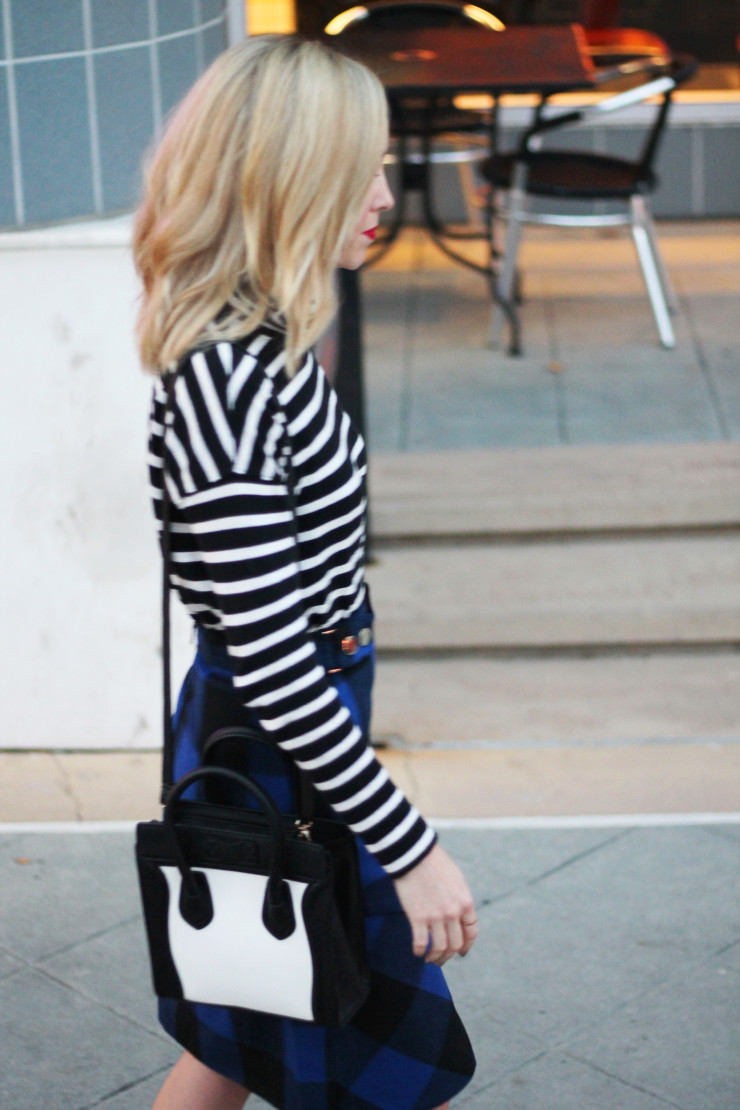 stripe and check outfits