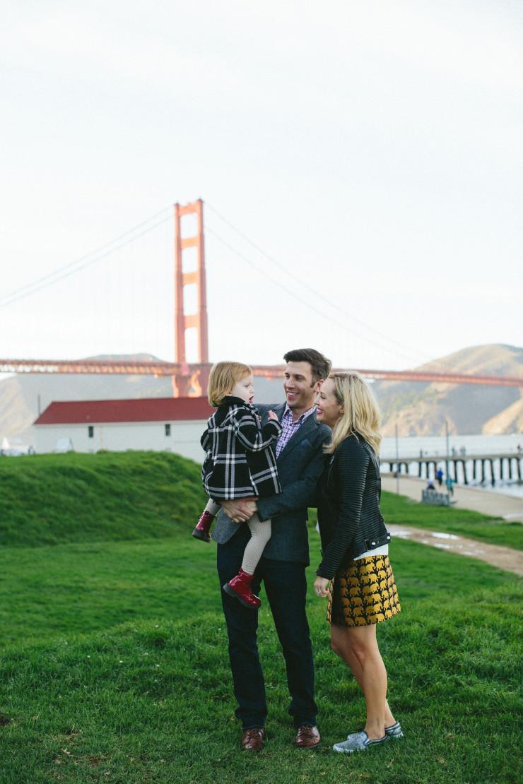 Family photos in SF