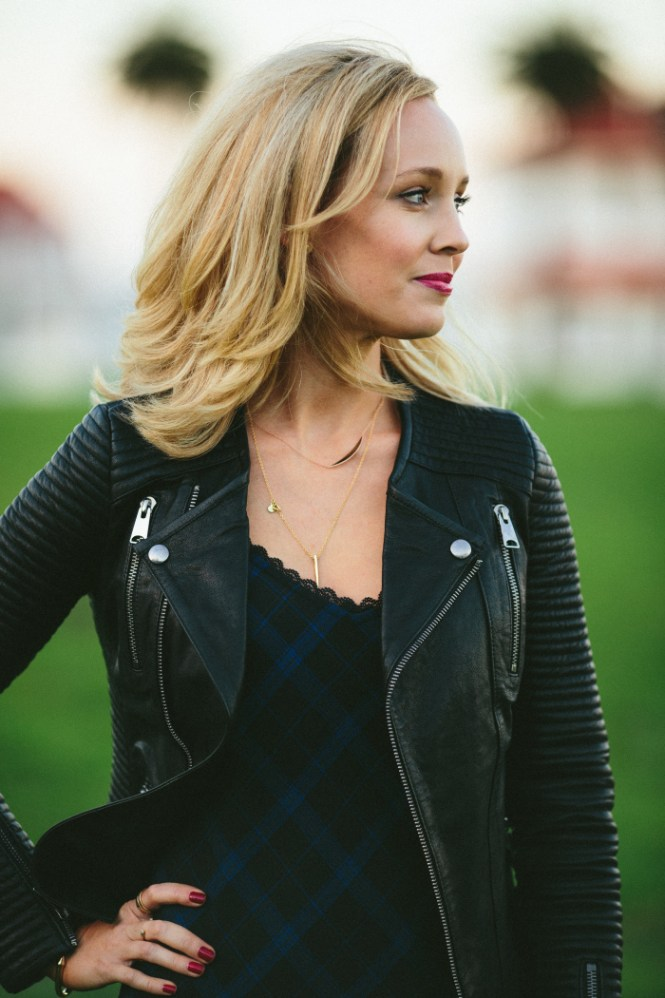 Anine Bing CLASSIC LEATHER JACKET