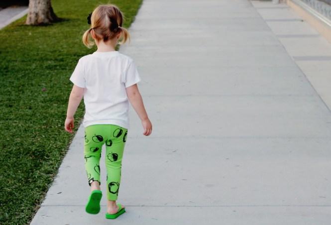 printed toddler leggings