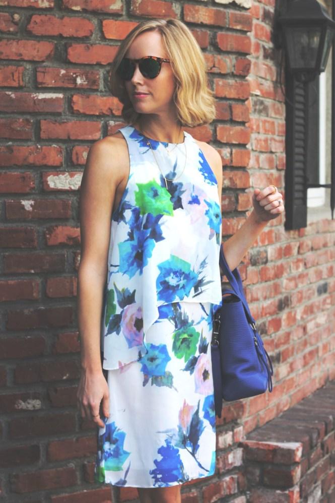 two tier dress