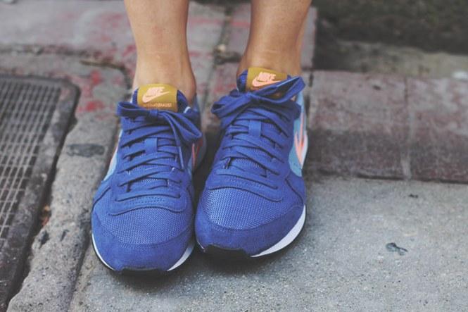 Purple Nike 'Internationalist'