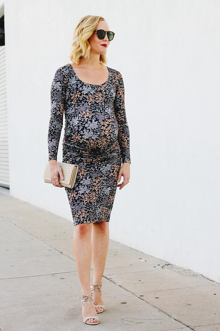 Bodycon Maternity Dress