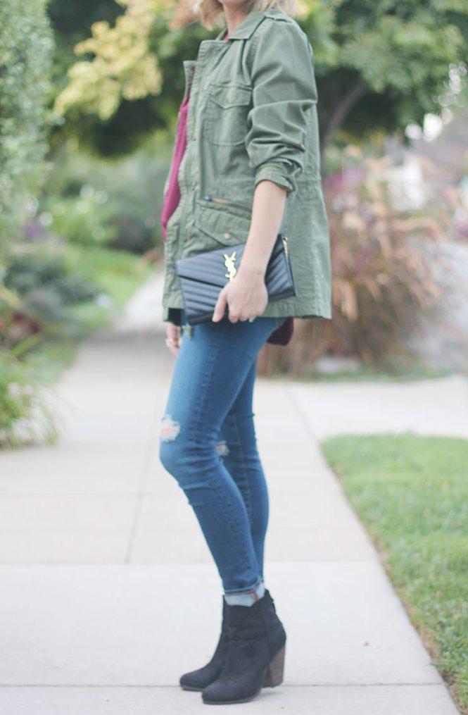 lily aldridge military jacket