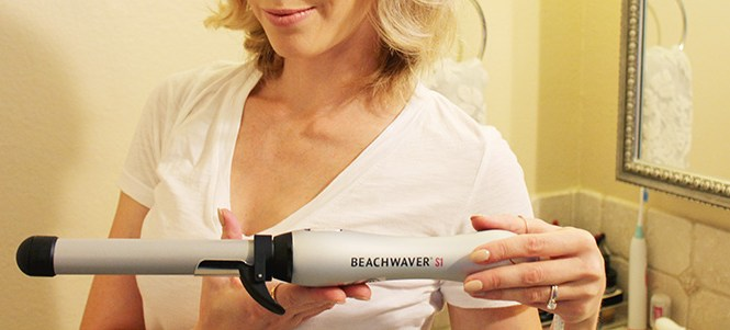 How to use a Beachwaver on short hair