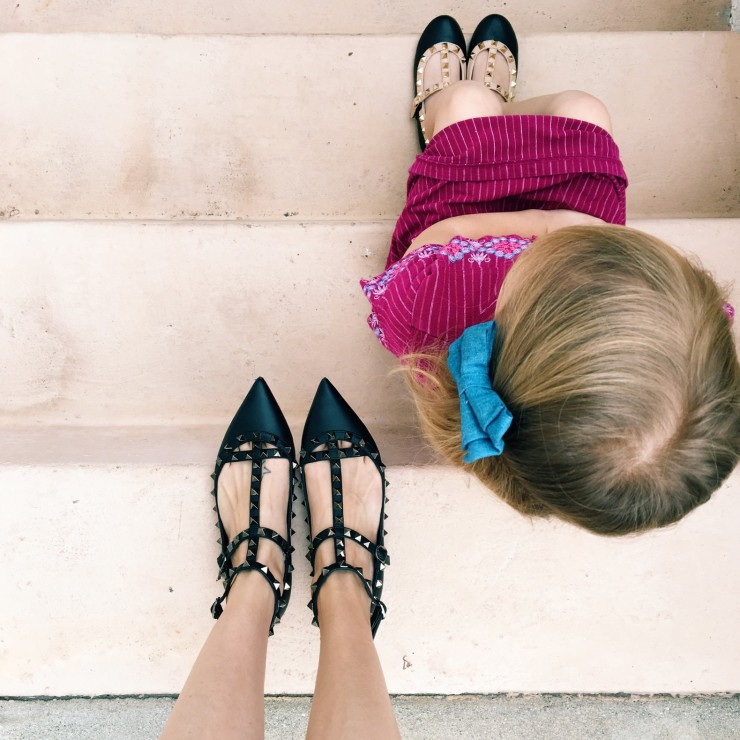 kids valentino rock studs