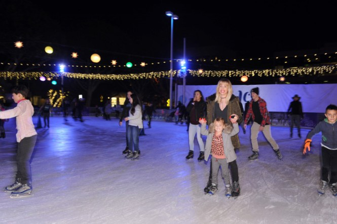 Skating Party Santa Monica, California