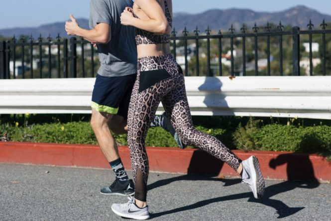 half marathon training couple
