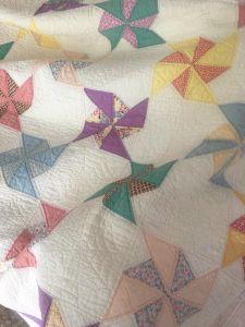 Free Pinwheel quilt pattern
