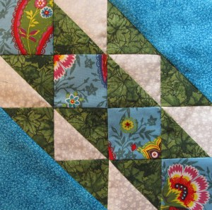 Sample of the quilt blocks from The Ladies Quilt pattern Book