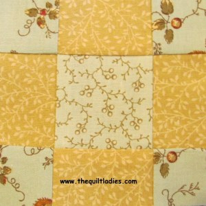 How to make a sheep fold quilt pattern block