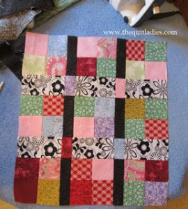 Valentine Quilted Table topper Pattern to make