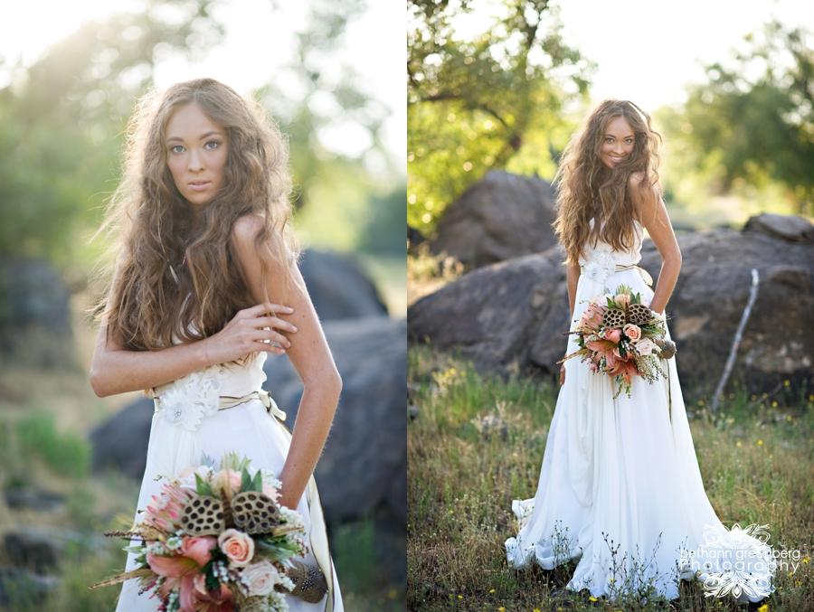Boho Pocahontas Shoot Featured On Green Wedding Shoes