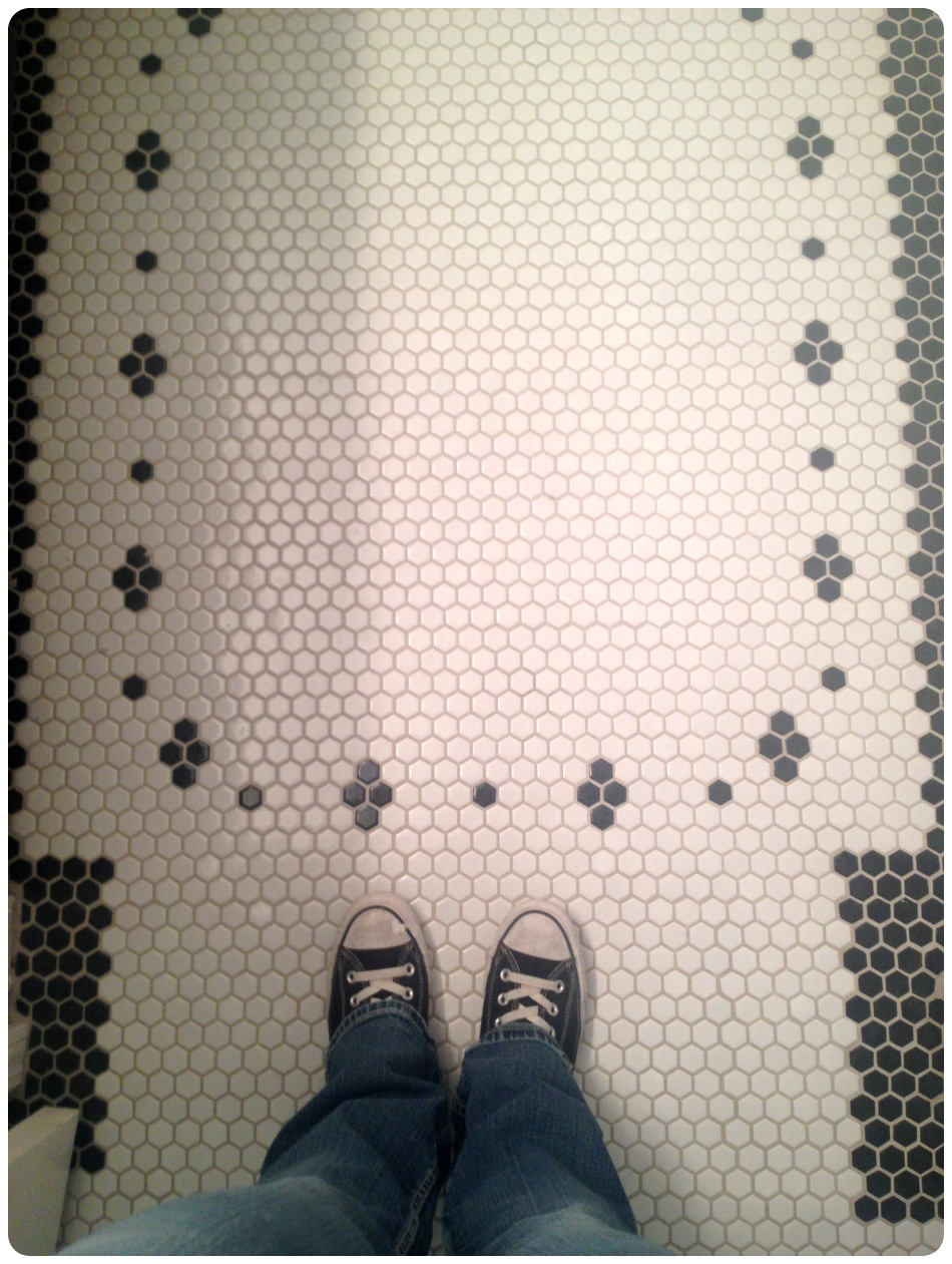 Update: I Have To Say, Colin Walked In The Bathroom After I Finished And  Said U201cHey, That Looks Like A Nicole Curtis Floor.u201d I Had Taken The Above  Pic And ...