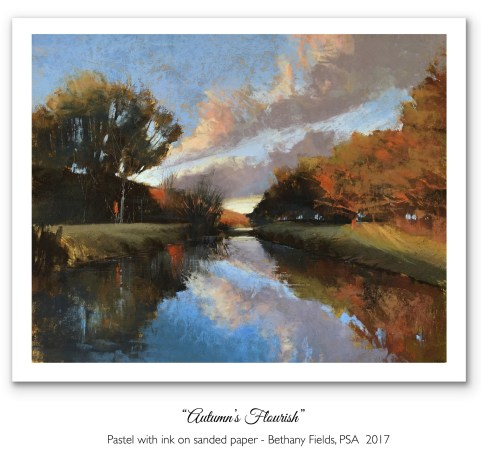 Bethany Fields - Pastel Painting