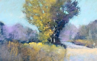 Bethany Fields pastel painting