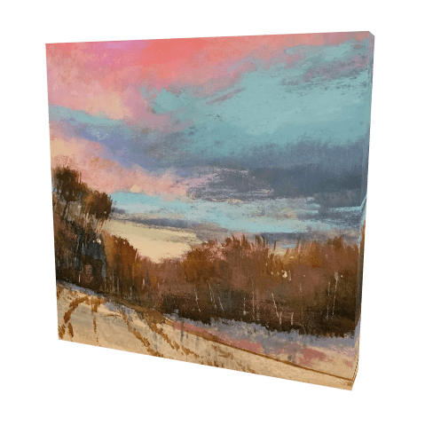 The Last Sunset - Gallery Wrapped Canvas | Bethany Fields Contermporary Impressionsm