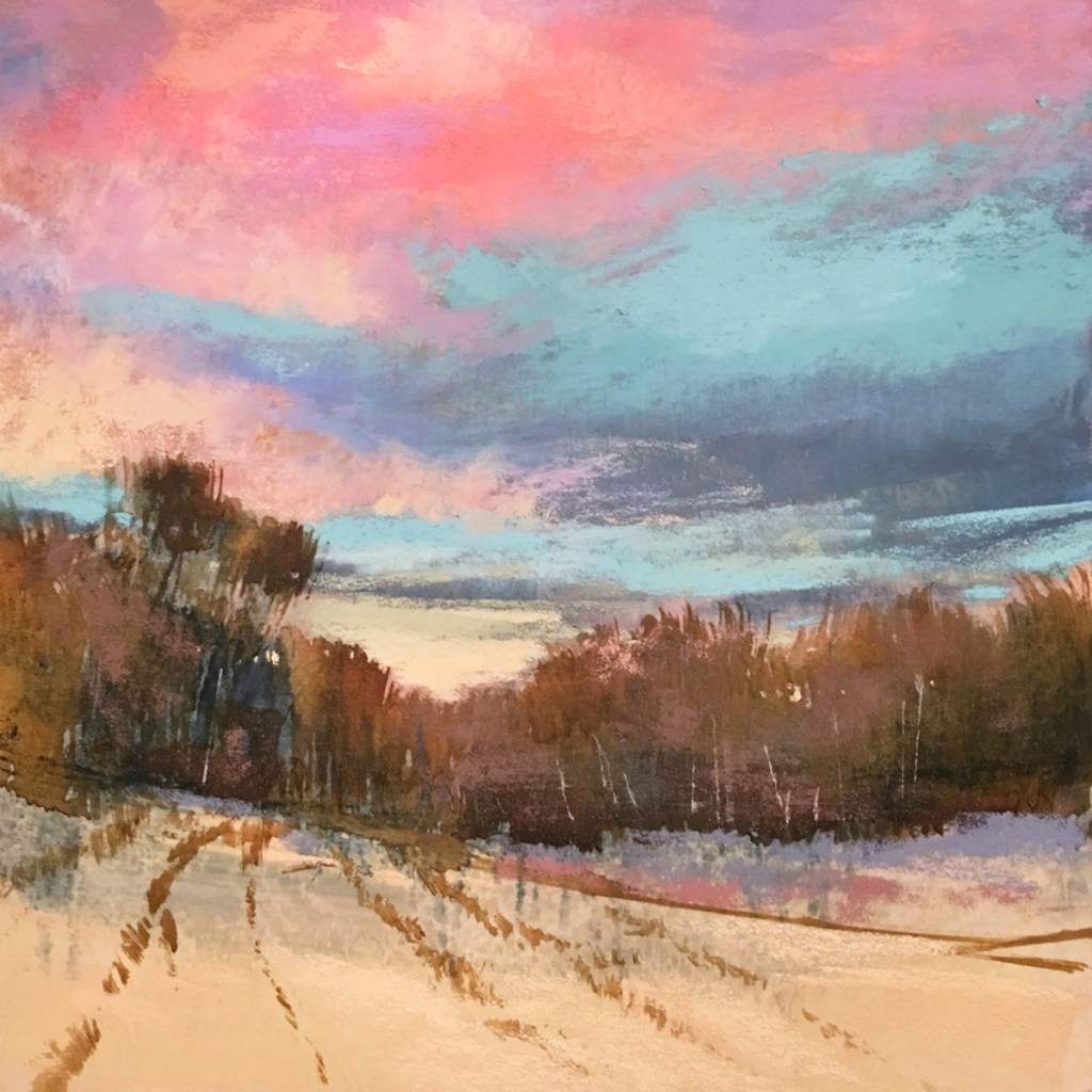 The Last Sunset - Fine Art Giclee | Bethany Fields Contemporary Impressionism