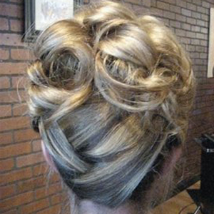chic updo for your prom fancy party and special occasion