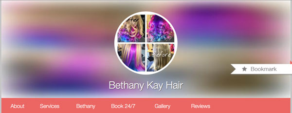 Bethany Kay Hair now offering Online Appointment Scheduling