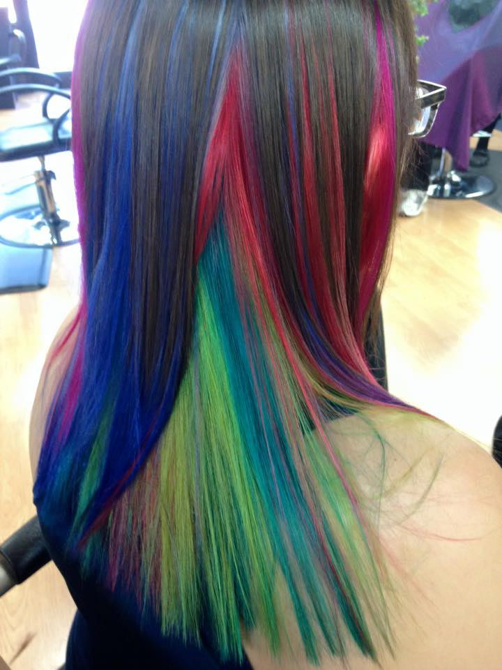 Fun And Funky Fashion Hair Color By Bethany In Parker Colorado