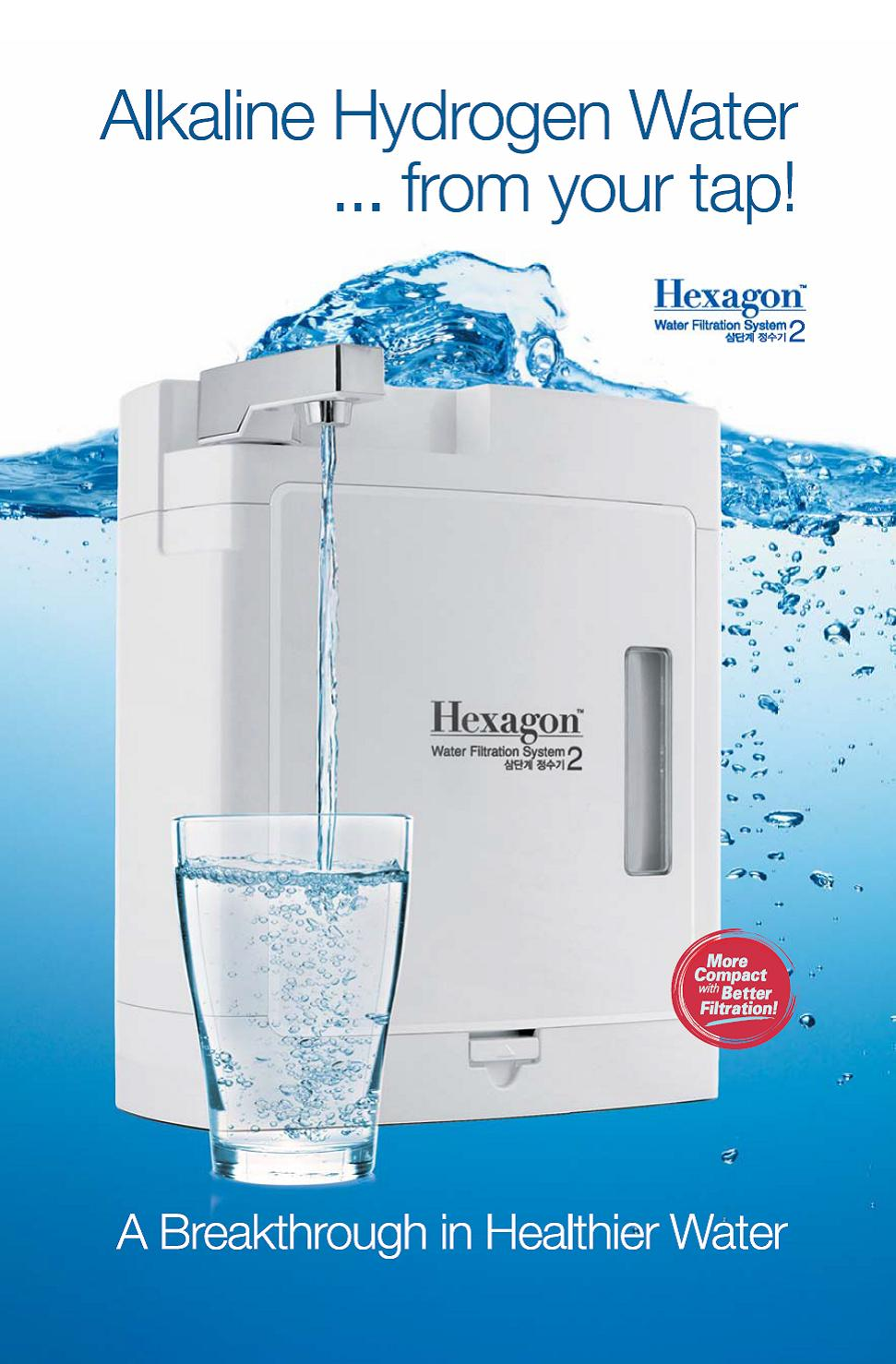 Water Education About The Hexagon Alkaline Water System