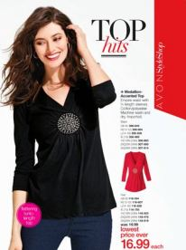 Avon Medallion Accented Top