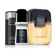 Black Suede Set