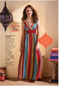 Marrakesh-Look Maxi Dress
