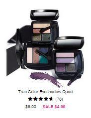 true color eyeshadow quad