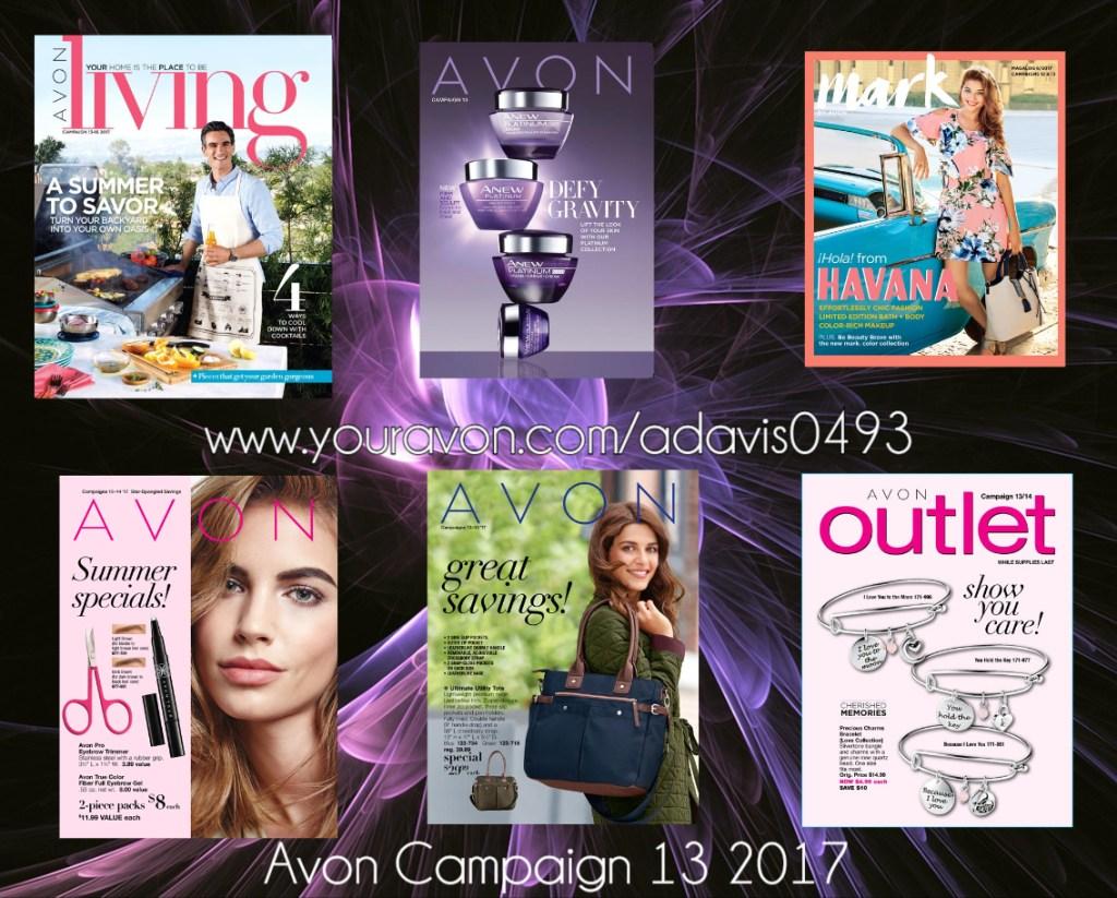 Avon Campaign 13 2017 Brochures