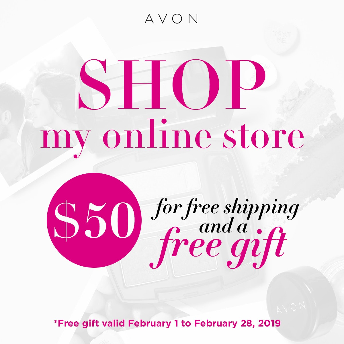 AVON COUPONS AUGUST 2019