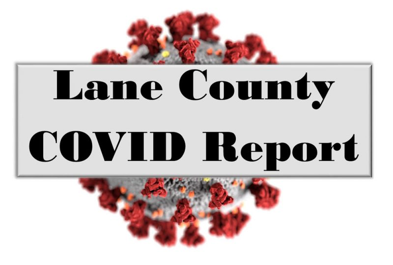 Lane County Covid Report Image