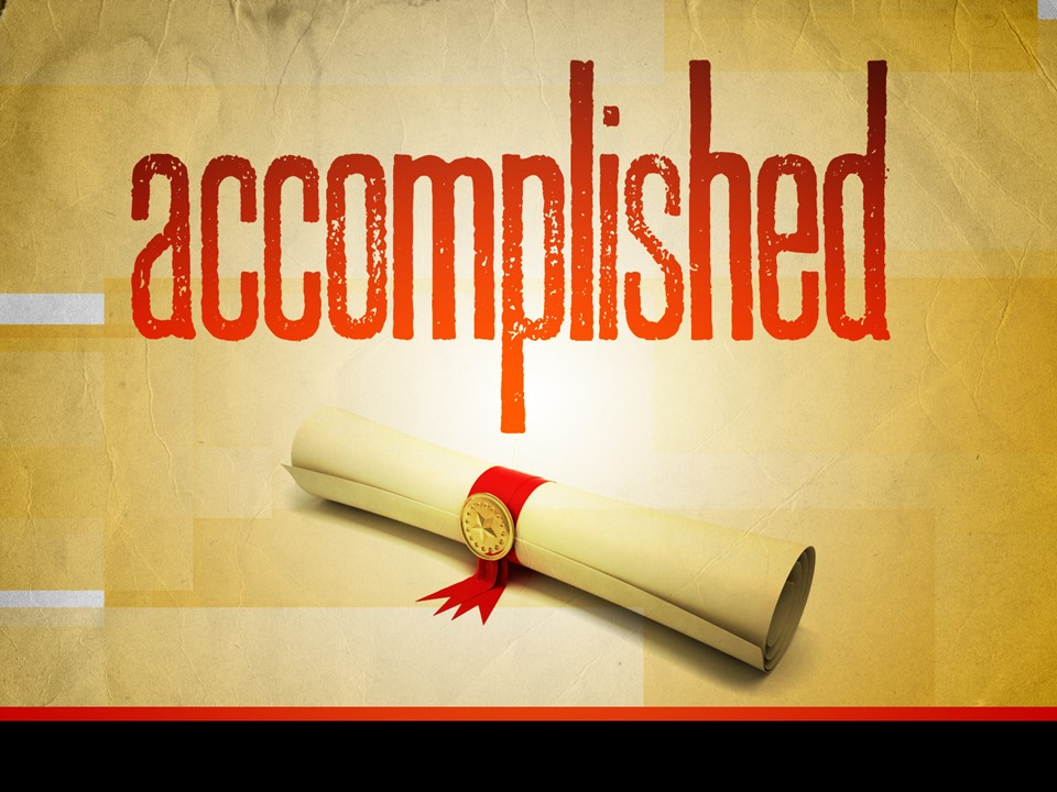 Earthly Accomplishments Don't Last