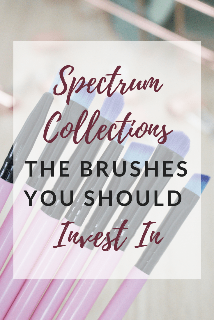 Spectrum Millenial Pink brushes you need