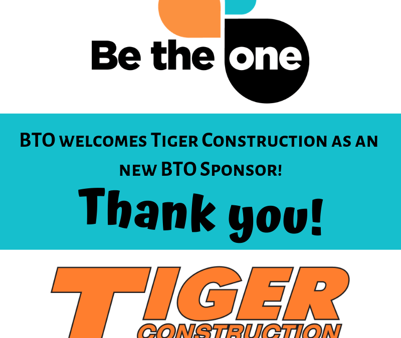 Tiger Construction – the latest BTO Sponsor