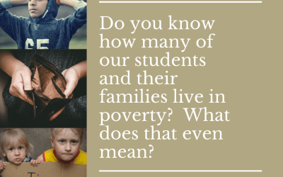 How many of our students and their families live in poverty?