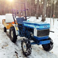 Old Blue - Our Faithful Tractor