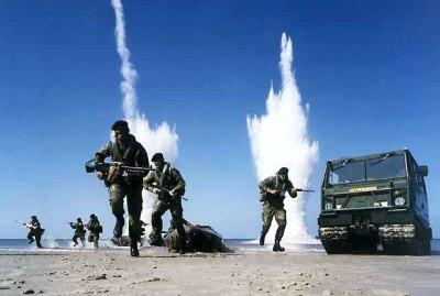 Marines in war
