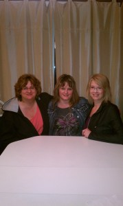 Karen Wells, Beth Jones, Doreen Penner