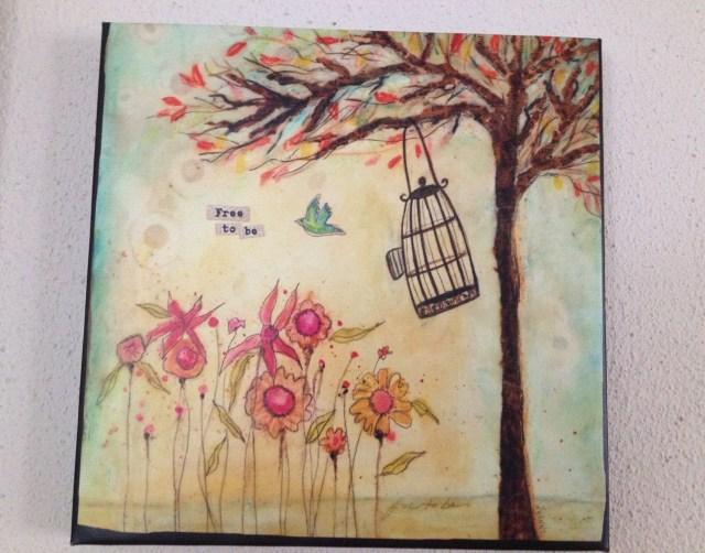 """Free to be"" bird pic"