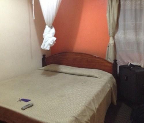 Our hotel room, Nairobi, Kenya