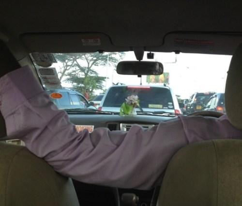 Nairobi, 3-hour traffic