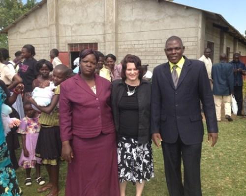 Pastor Rose, me (Beth Jones, & Pastor Patrick Mudenyo Bungoma, Kenya, Africa