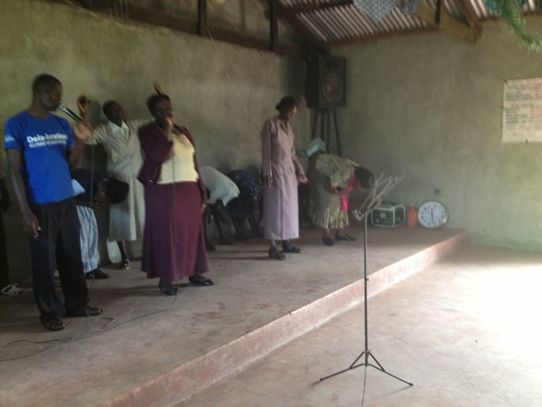 Fire starter intercessors during worship
