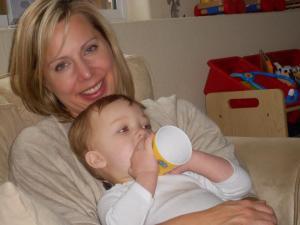 Jennifer and son
