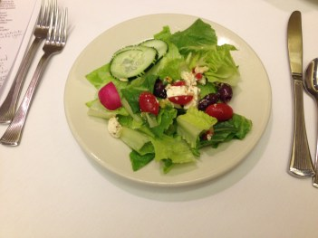 salad for our lunch