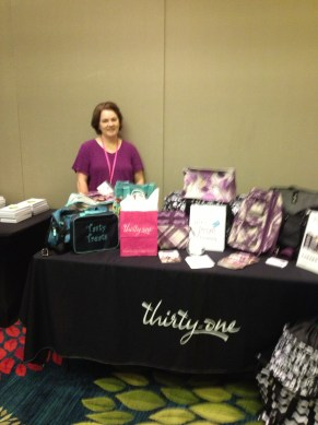 Carol Gometz, event vendor Thirty-One Gifts