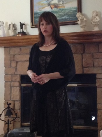 Me speaking, Olathe, Kansas Aglow