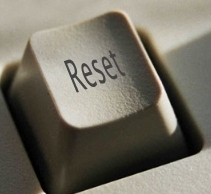 Reset button. Source: http://jarche.com/2009/04/push-the-reset-button/